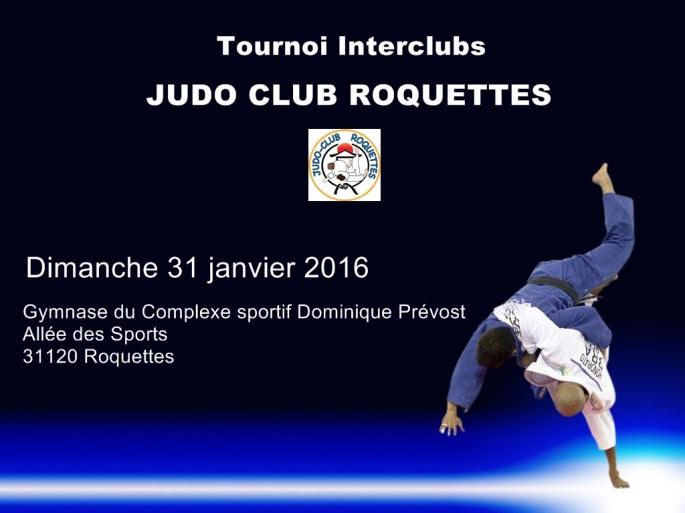 Tournoi Interclubs JUDO CLUB ROQUETTES